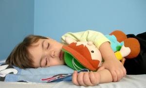 niños a dormir