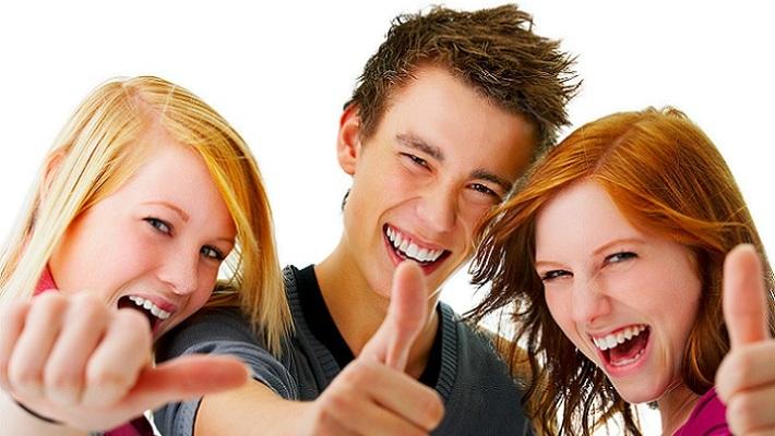 un adolescente con hábitos